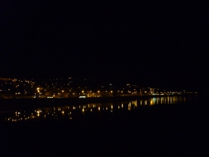 Fort William at night