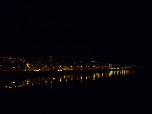 Fort William at night