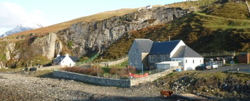 Elgol Primary and sea-cow