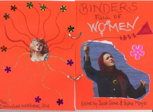 Binders Full of Women('s poems)